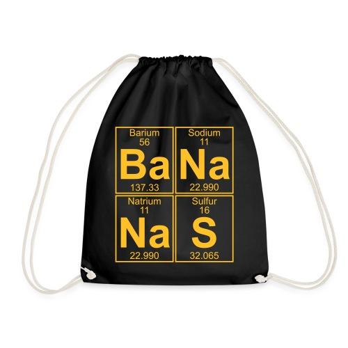 Ba-Na-Na-S (bananas) - Full - Drawstring Bag