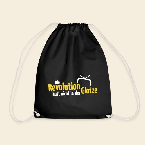 Die Revolution läuft nicht in der Glotze - Turnbeutel