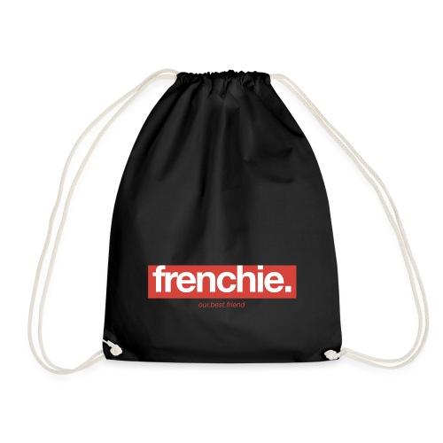 Frenchie Banner - Französische Bulldogge - Turnbeutel