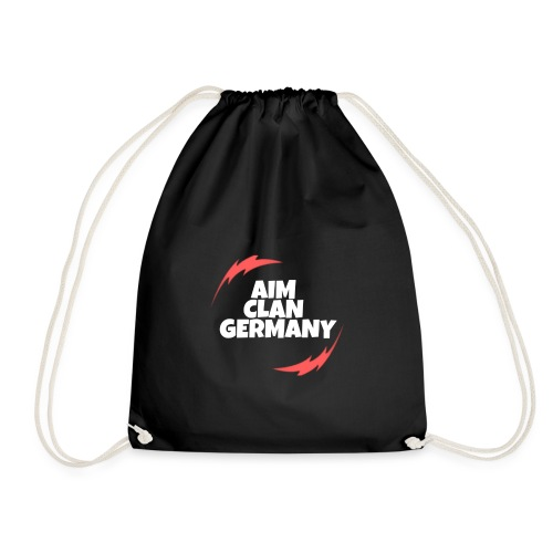 AIM CLAN GERMANY LOGO - Turnbeutel