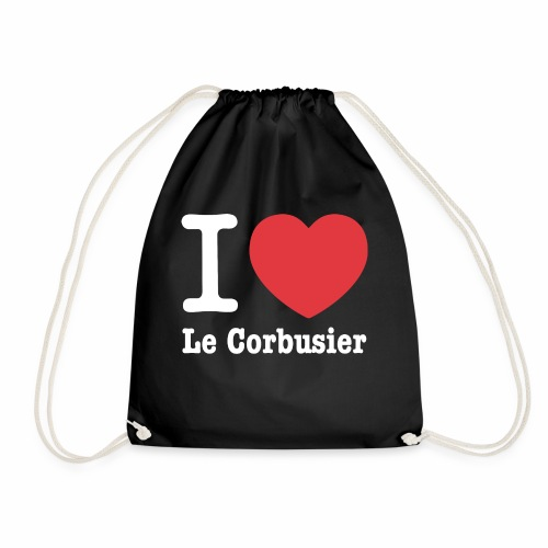 Love Le Corbusier - Mochila saco