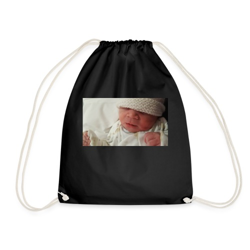 baby brother - Drawstring Bag
