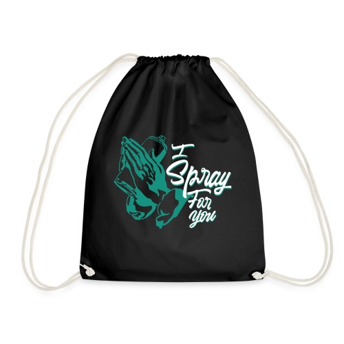 graffiti street tag religion spray hip hop banksy - Sac de sport léger