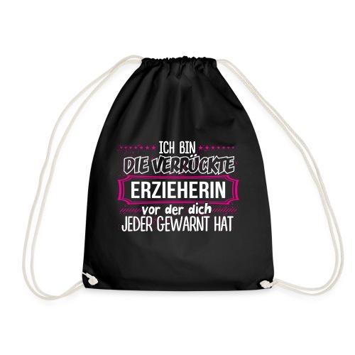 ERZIEHERIN - Warnung - Turnbeutel