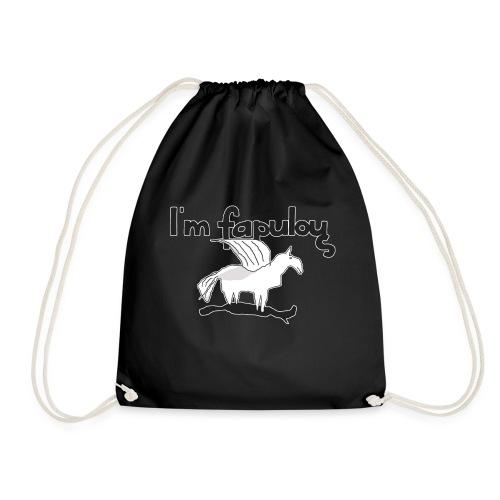 Im fapulous Pegasus - Turnbeutel