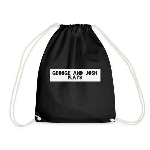 George-and-Josh-Plays-Merch - Drawstring Bag