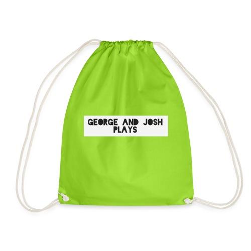 George-and-Josh-Plays-Merch - Drawstring Bag