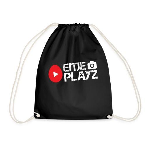 Wit Eitje Playz logo - Gymtas