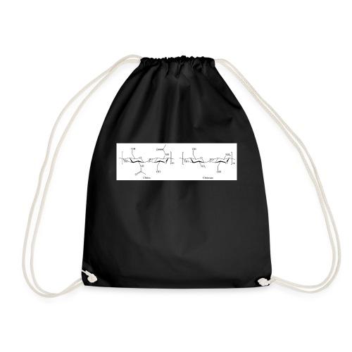 Chitin chitosan - Drawstring Bag