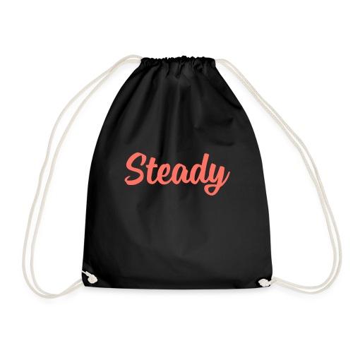 Steady Logo Orange - Turnbeutel