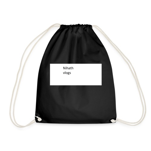 nihatrh merch now - Drawstring Bag