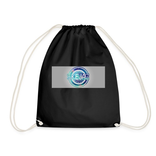 LOGO WITH BACKGROUND - Drawstring Bag