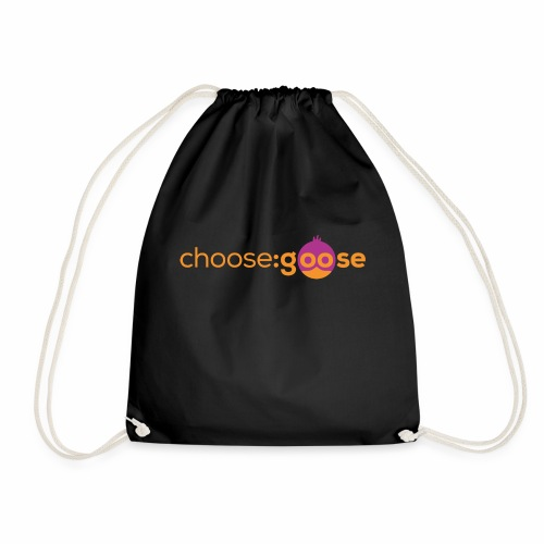 choosegoose #01 - Turnbeutel