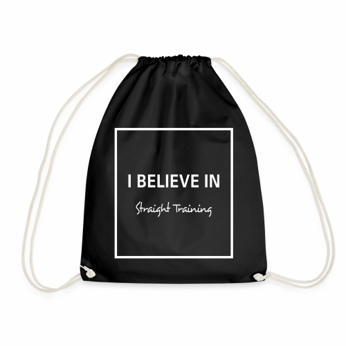 I believe in - Turnbeutel