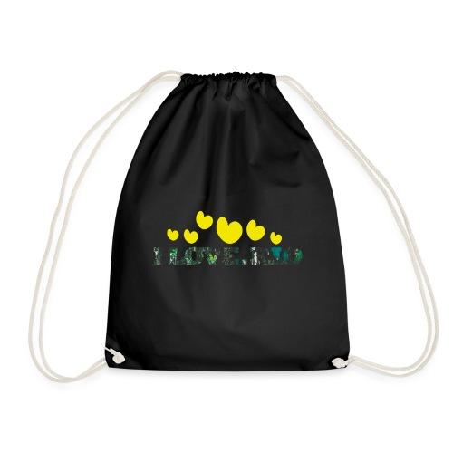 ILOVE.RIO TROPICAL N°2 - Drawstring Bag