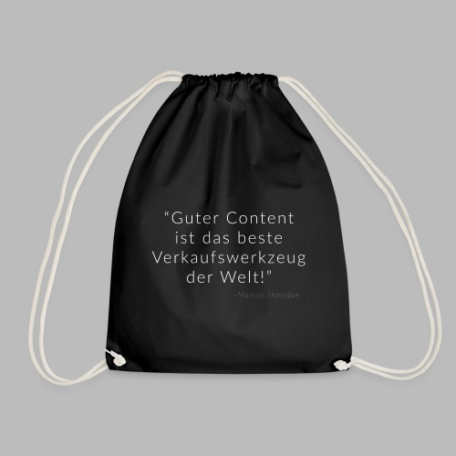 Gutes Content Marketing - Turnbeutel