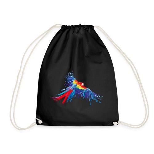 Papagei Federn Aras Vogel Vögel Flügel parrot bird - Turnbeutel