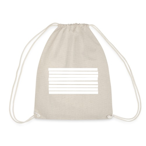 Stripes - Drawstring Bag