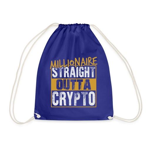 Millionaire Straight Outta Crypto - Turnbeutel