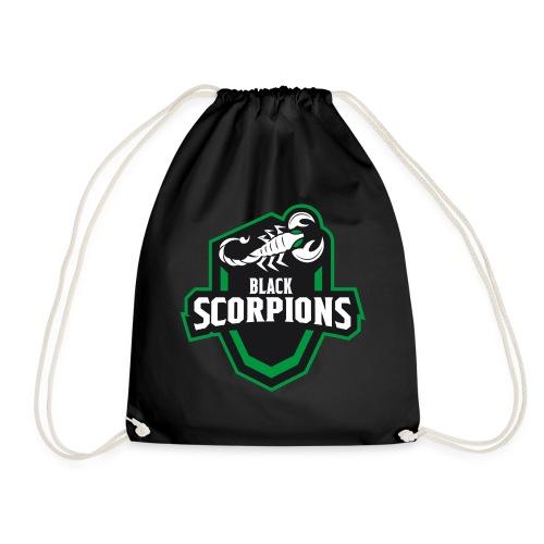 Black Scorpions Logo - Turnbeutel
