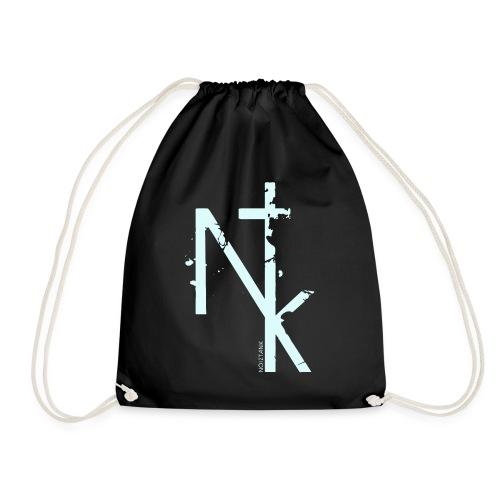 NTK logo white - Turnbeutel