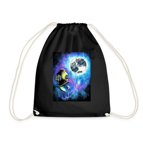 under the sea - Drawstring Bag