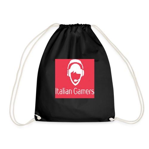 logo italian gamer - Sacca sportiva