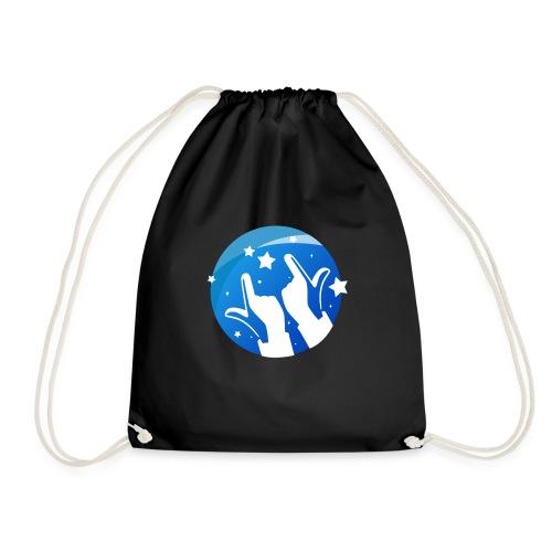 Gleam Hands loho - Drawstring Bag