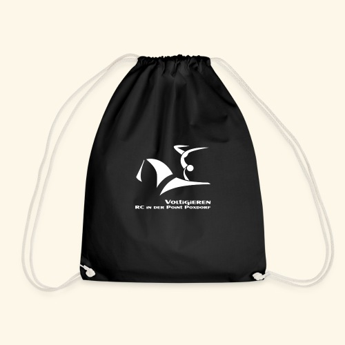 Fan- und Trainingskleidung_Logo weiß - Turnbeutel