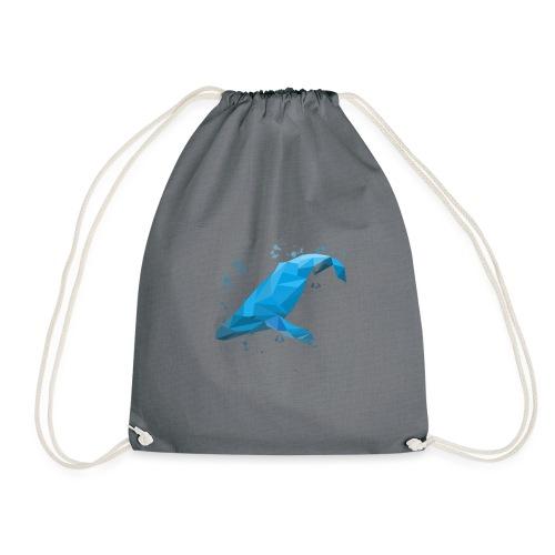 Wal Buckelwal Blauwal Naturschutz - Turnbeutel
