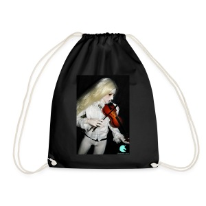 Vampire Violin Gothic Music Fantasy Enchanted - Drawstring Bag