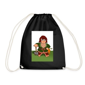 Petal's Potted Preserve - Drawstring Bag