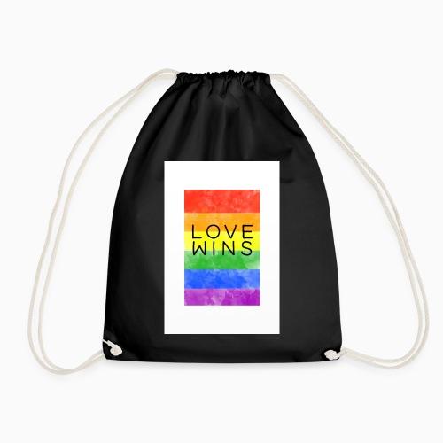 LoveWins - Drawstring Bag