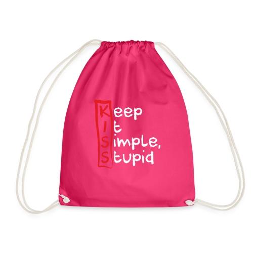 KISS, KEEP IT SIMPLE, STUPID - Turnbeutel