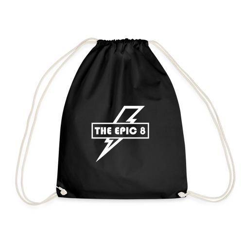 The Epic 8 - valkoinen logo - Jumppakassi