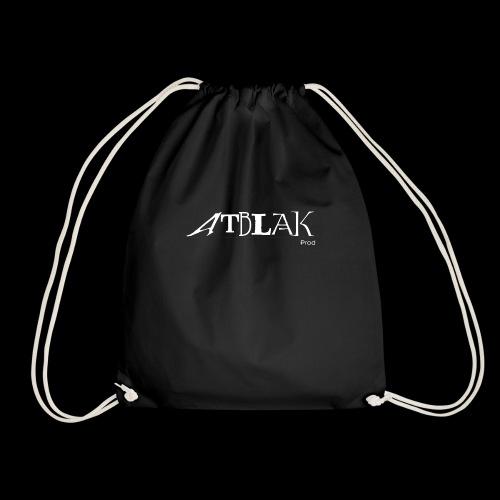 Logo blanc contour noir - Sac de sport léger