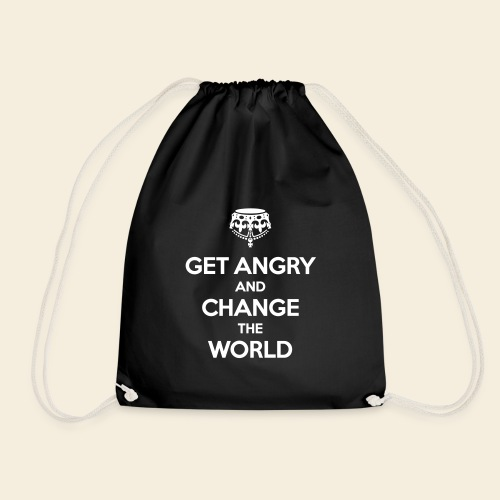 Get angry and change the World - Turnbeutel