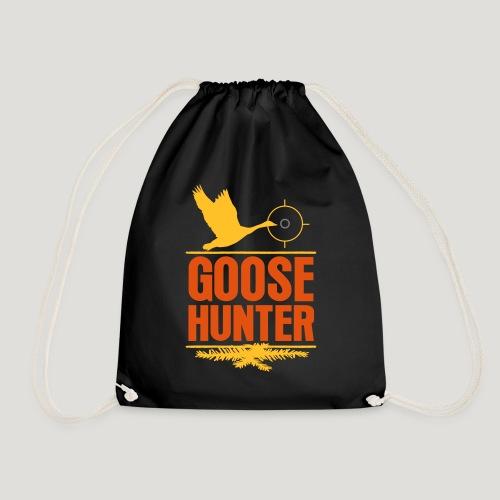 Jägershirt Gänse Jäger Goose Hunter Wildgans Jagd - Turnbeutel