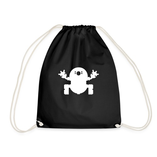 we_want_robots_solo_2 - Drawstring Bag