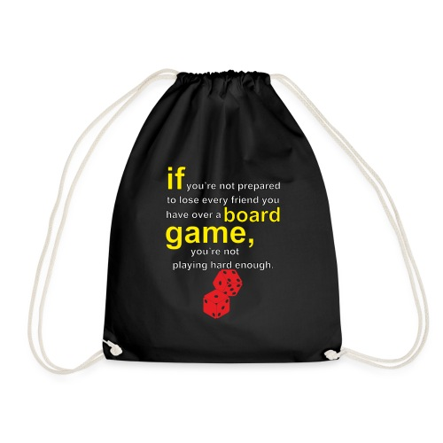 Board gamer - Drawstring Bag