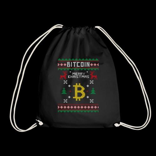 Bitcoin Merry Christmas - Worek gimnastyczny