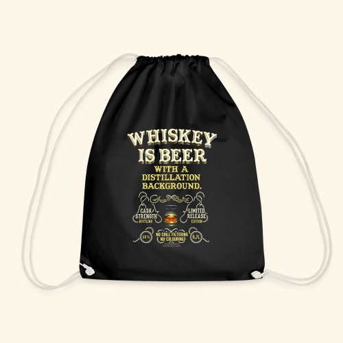 Whiskey Is Beer - Turnbeutel