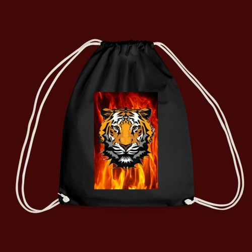 Fire Tiger - Drawstring Bag