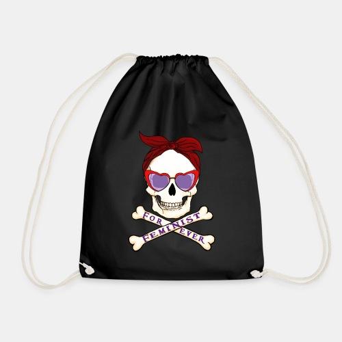 Feminist skull - Mochila saco