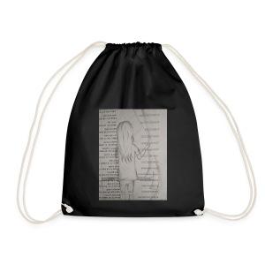 Longing Girl - Drawstring Bag