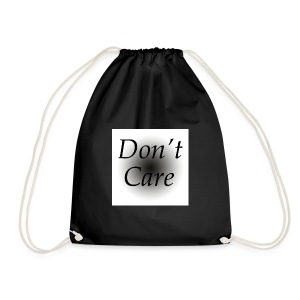Don't care quote tas - Gymtas