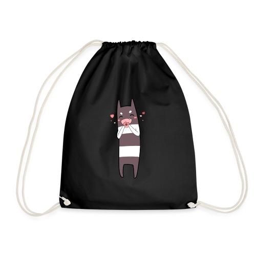 Donut Monster - Drawstring Bag