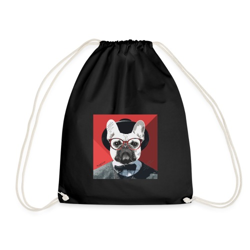 French Bulldog Artwork 2 - Turnbeutel