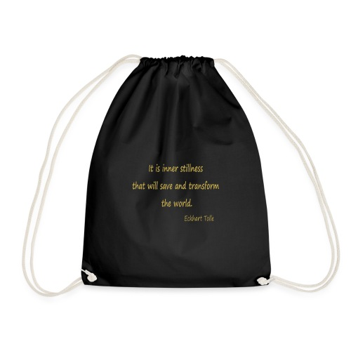 Inner Stillness - Drawstring Bag
