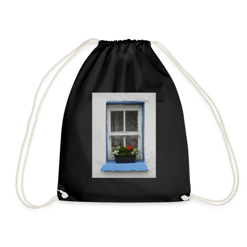 Cashed Cottage Window - Drawstring Bag